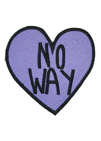 Extreme Largeness No Way Heart Patch