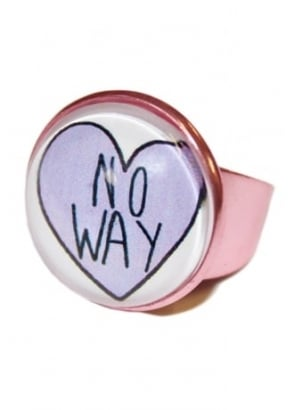 No Way Heart Ring