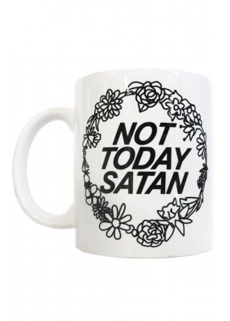 Extreme Largeness Not Today Satan Mug