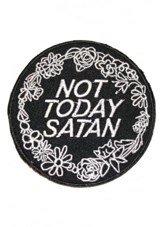 Extreme Largeness Not Today Satan Patch