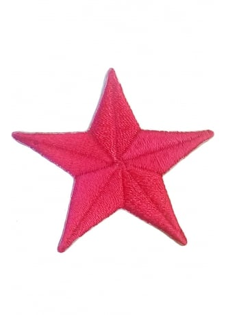 Extreme Largeness Small Pink Star Patch