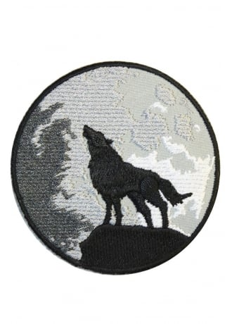 Extreme Largeness Wolf And Moon Patch