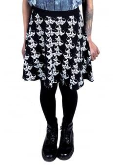 Macabre Skater Skirt