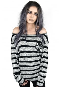 X Marks The Spot Knit Jumper