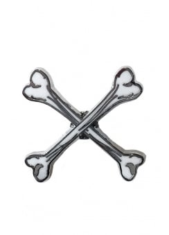 X Marks The Spot Pin Badge