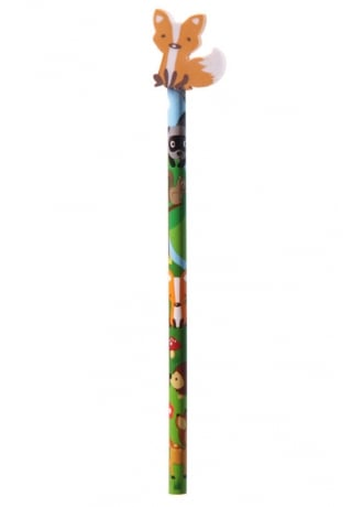 Fox Eraser Topper Forest Friend Pencil