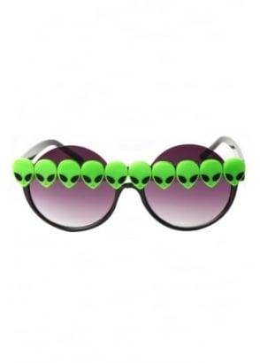 Forbidden Martian Peekaboo Sunglasses