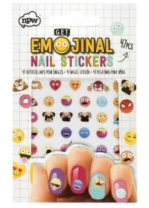 Get Emojinal Nail Stickers