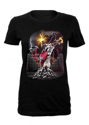 Heavy Metal Cat T-Shirt