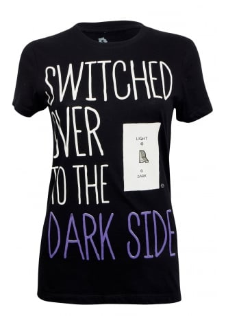 Goodie Two Sleeves Switch to the Dark Side T-Shirt