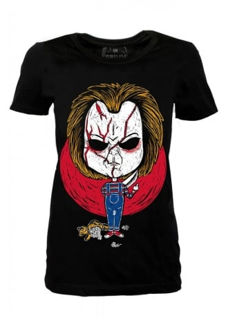 Grimm Designs Chucky Fitted Tee