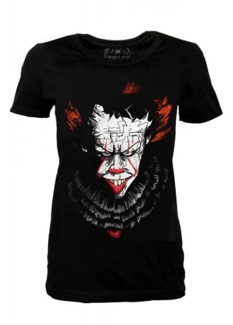 Grimm Designs Dancing Clown Fitted Tee