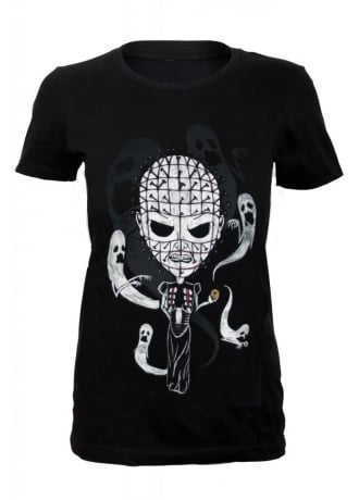 Grimm Designs Pinhead Fitted Tee