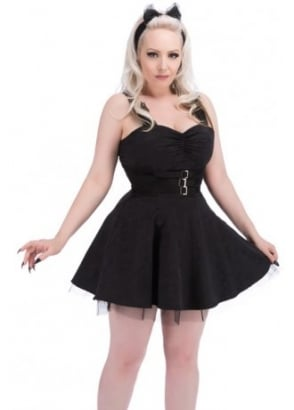 Gothic Brocade Dress