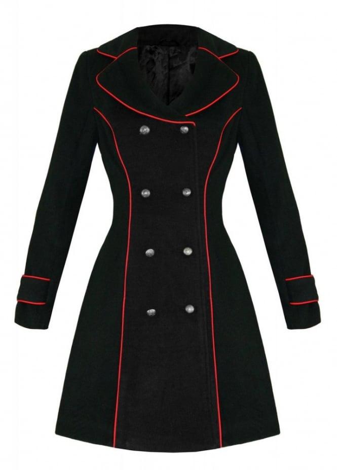 H&R London Military Coat