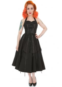 Pretty Pirate Long Gothic Dress