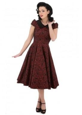 Regina Brocade Party Dress