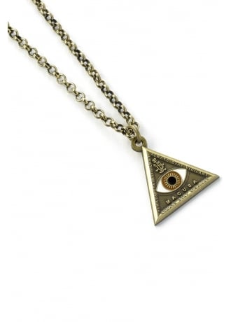 Harry Potter Fantastic Beasts Triangle Eye Necklace