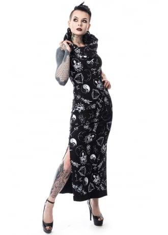 Heartless Black Magic Pentagram Dress