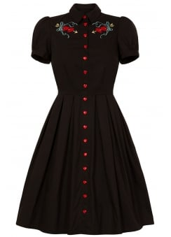 Amora Retro Plus Size Dress