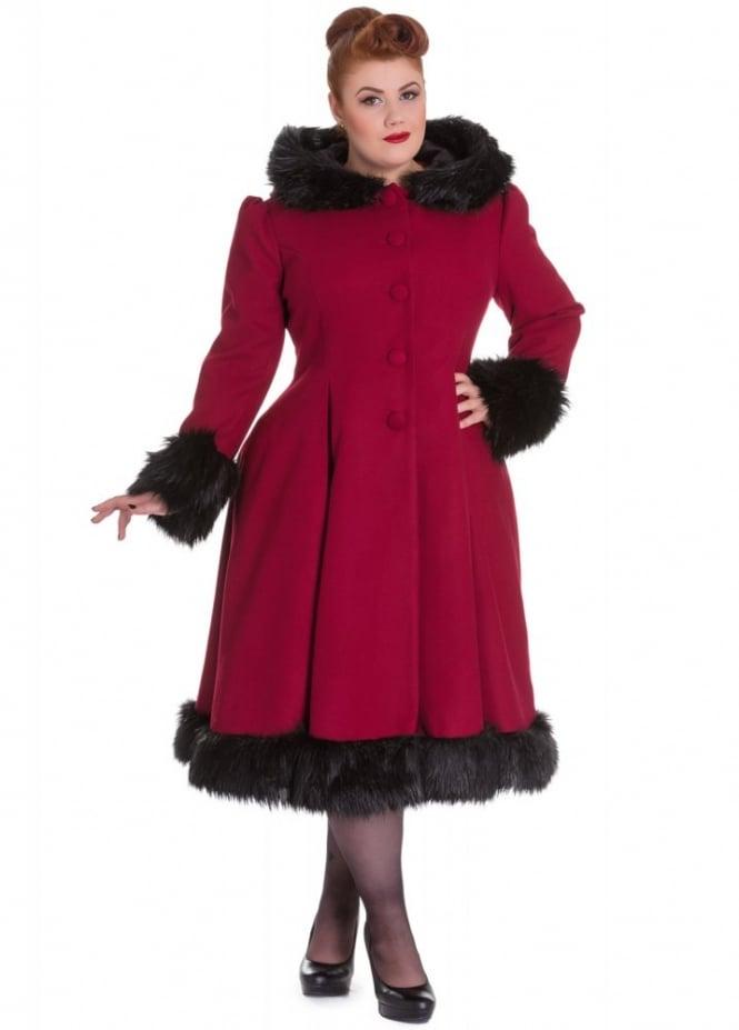 Hell Bunny Elvira Plus Coat