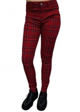 Finley Tartan Jeans