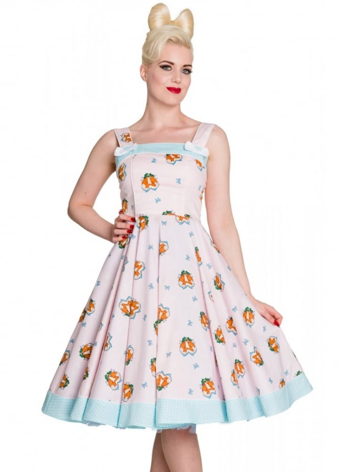 Hell Bunny Foxy 50s Dress