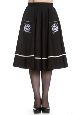 Hell Bunny Full Moon Skirt
