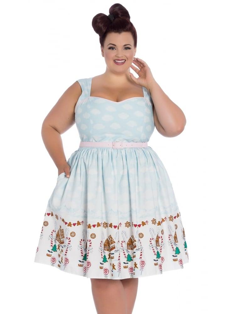 Gigi Retro Plus Size Dress