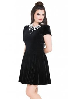 Graveyard Gothic Mini Dress