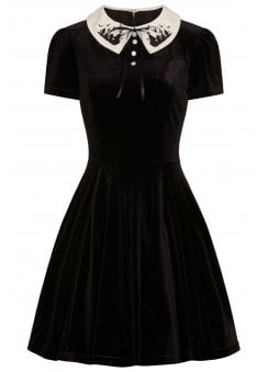 Graveyard Gothic Plus Mini Dress