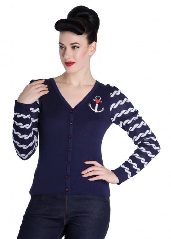 Hell Bunny Harbour Cardigan