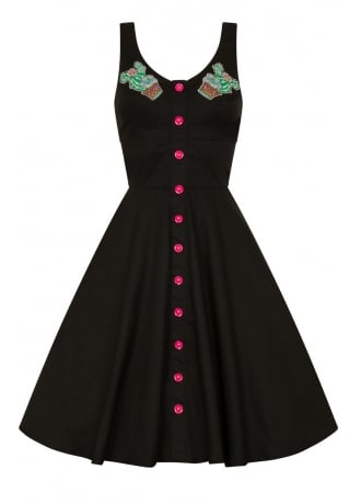 Hell Bunny Hatiora Retro Dress
