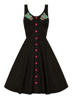 Hatiora Retro Plus Size Dress