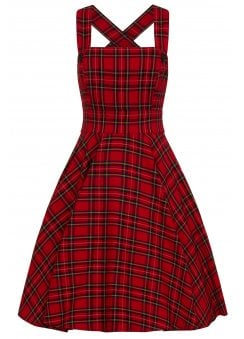 Irvine Pinafore Plus Dress