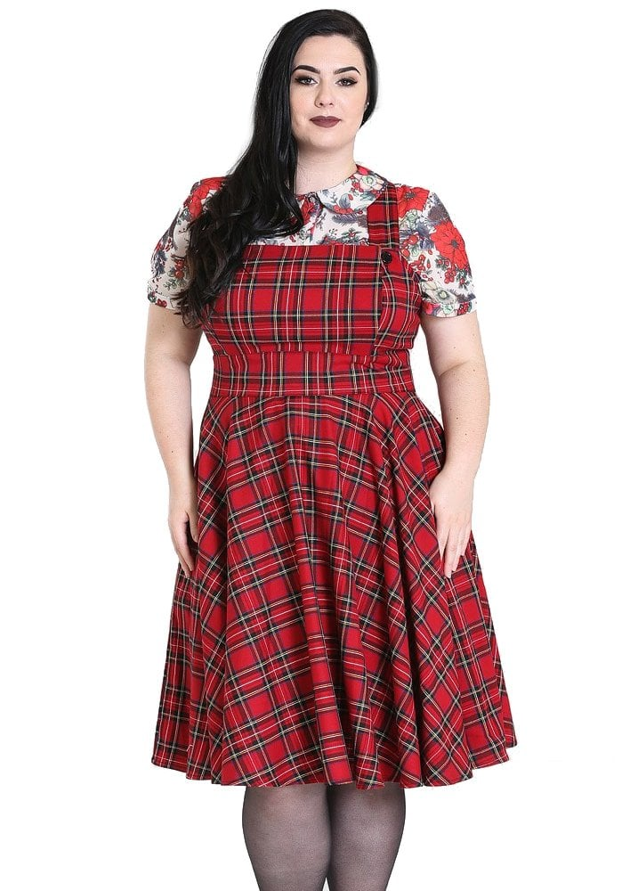 complete range of articles beautiful style coupon code Irvine Pinafore Plus Size Dress