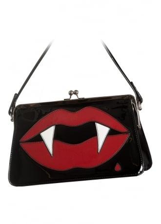 Hell Bunny Kiss Me Deadly Handbag