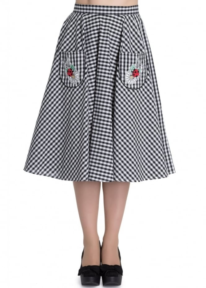 Hell Bunny Ladybird 50s Skirt
