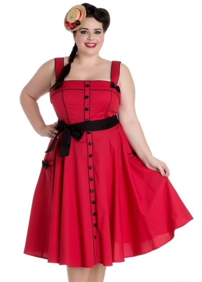 Hell Bunny Martie 50s Plus Dress