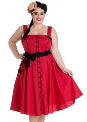 Martie 50s Plus Dress