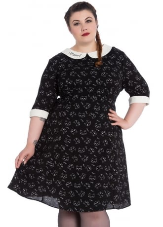 Hell Bunny Matou Plus Size Mini Dress