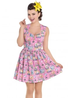 Maxine Retro Mini Dress
