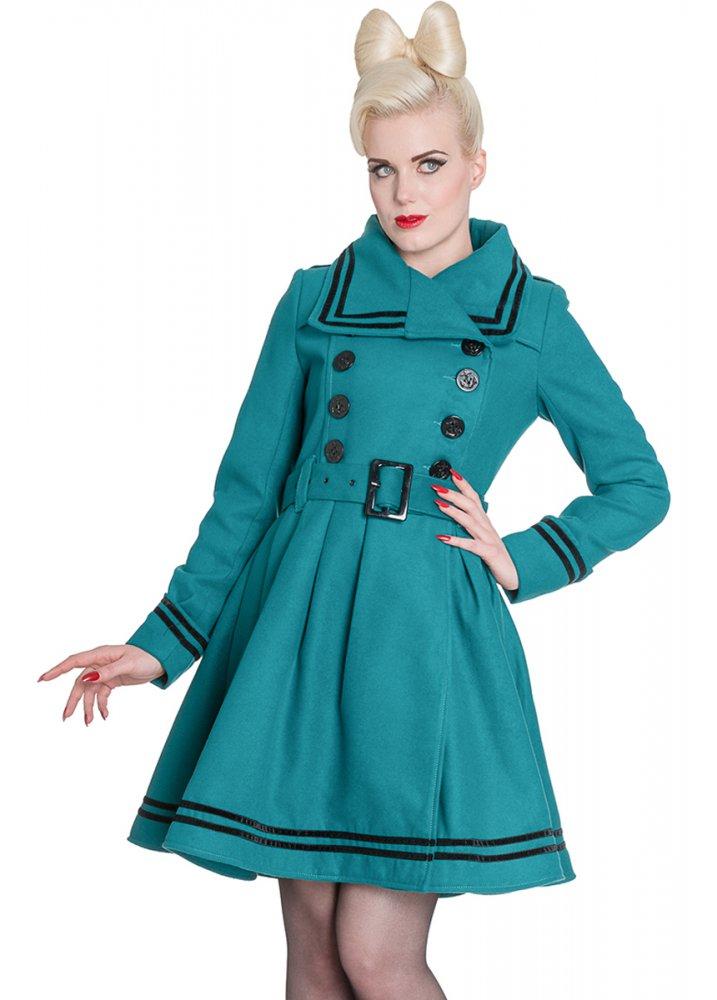 hell bunny millie coat attitude clothing