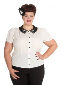 Miss Muffet Plus Blouse