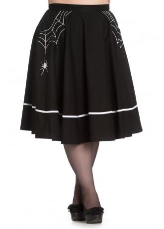 Hell Bunny Miss Muffet Plus Skirt