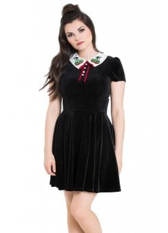 Nightshade Gothic Mini Dress