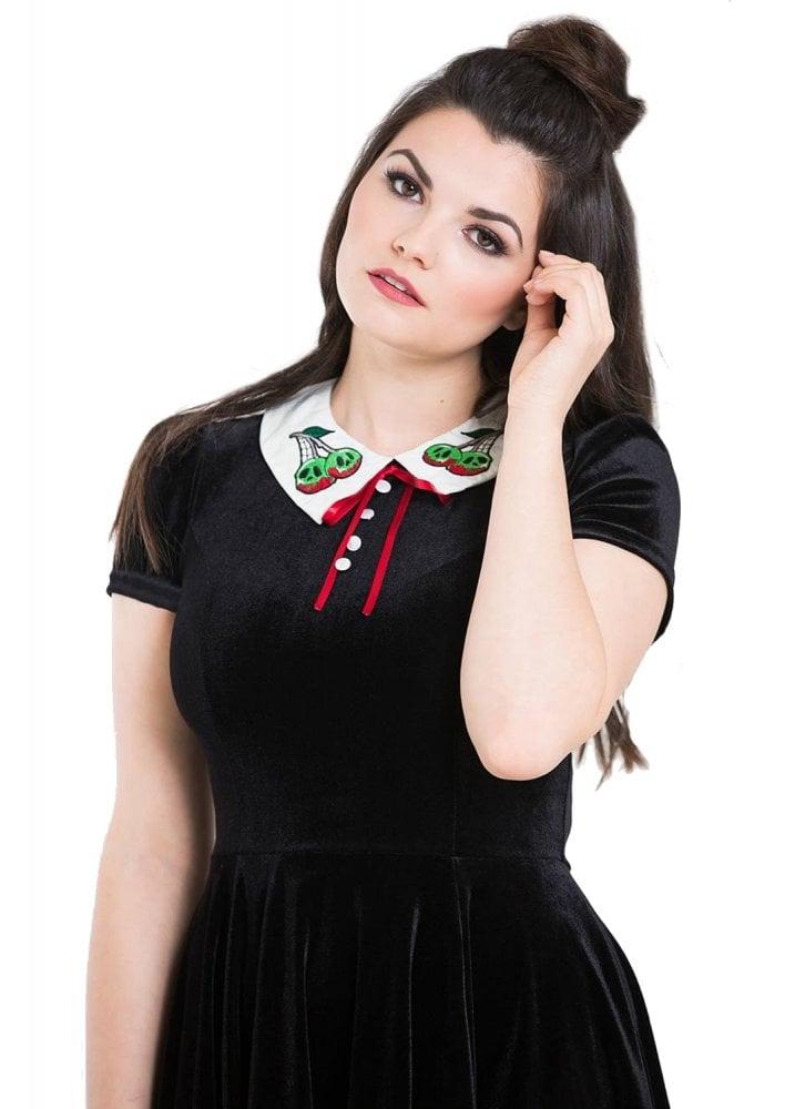 40f86274b7b Hell Bunny Nightshade Gothic Mini Dress