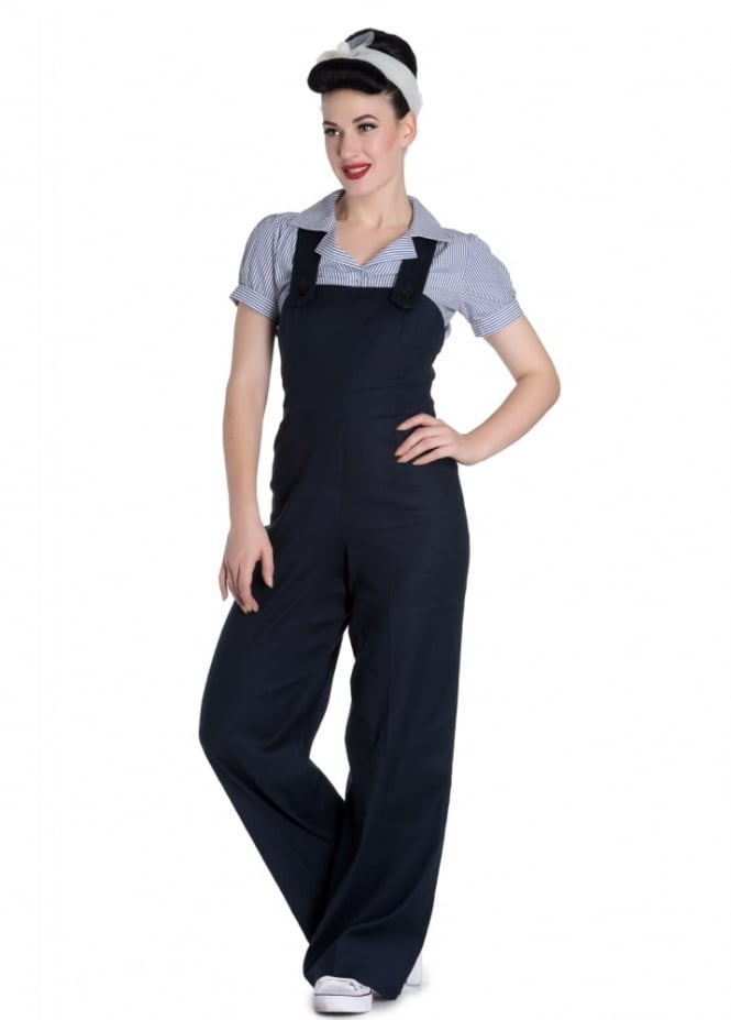 Hell Bunny Penny Dungarees