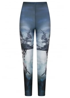 Raventide Gothic Plus Size Leggings