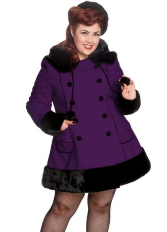 Hell Bunny Sarah Jane Plus Size Coat
